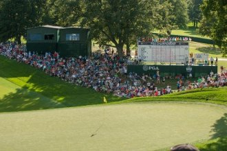 August 2013: The 95th PGA Championship, Oak Hill Country Club